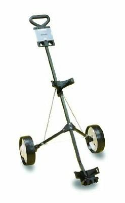 deluxe steel golf cart