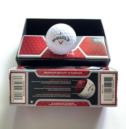 Callaway Diablo Golf Balls 2 Packs/ 6 Balls New..! With 1751