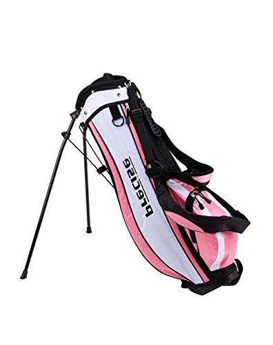 Precise Girls Handed Club for Age 3 to Includes: Hybrid Wood (22, 7 Iron, Putter, Stand & 2