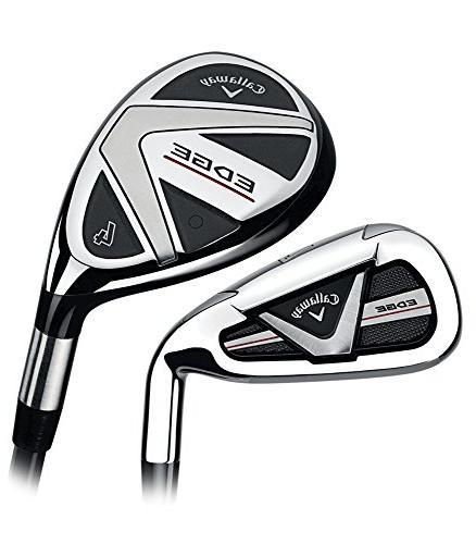 edge golf hybrid iron set