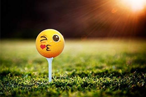 Emoji Golf Balls Edition -