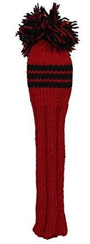 Sunfish Fairway Headcover, Red/Black