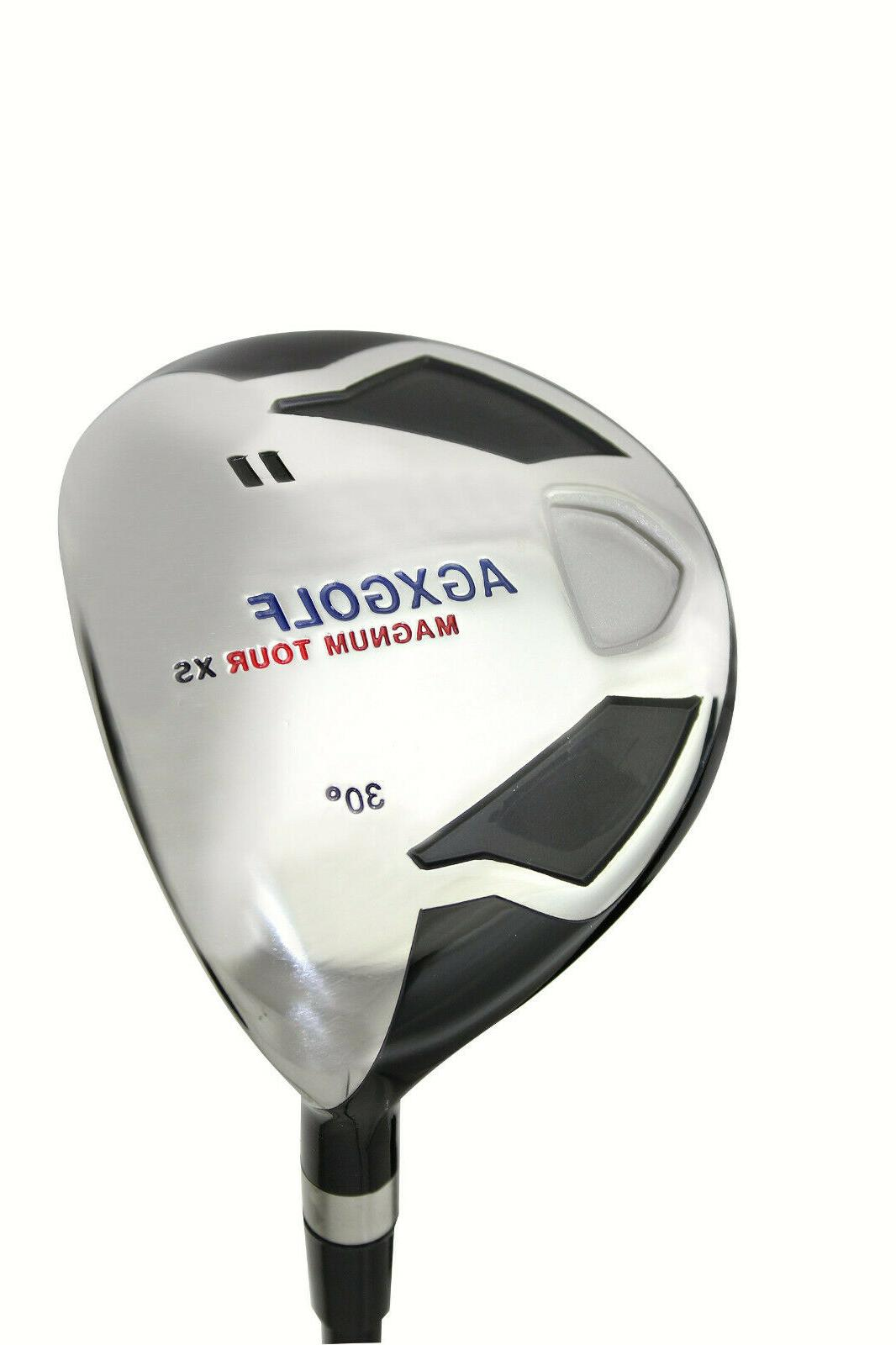 AGXGOLF WOOD GRAPHITE SHAFT +HEAD COVER