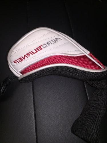 Genuine Hybrid Golf Cover. White Red Black