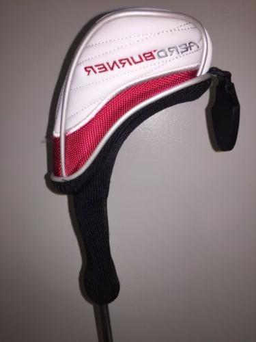 Genuine Burner Hybrid Golf Head Cover. New White Black