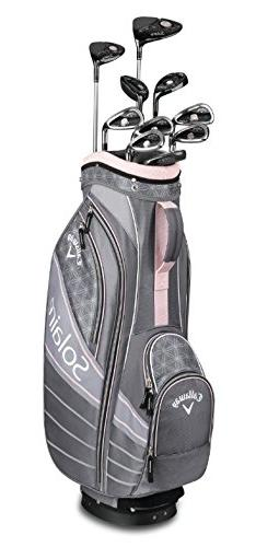 Callaway Golf 2018 Solaire Package Set, 11 Piece, Cherry Blo