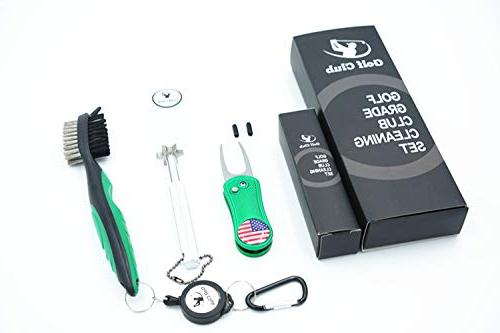 golf accessories and cleaner gift set golf
