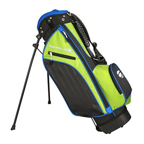 Orlimar Boy's Lime/Blue Golf Set