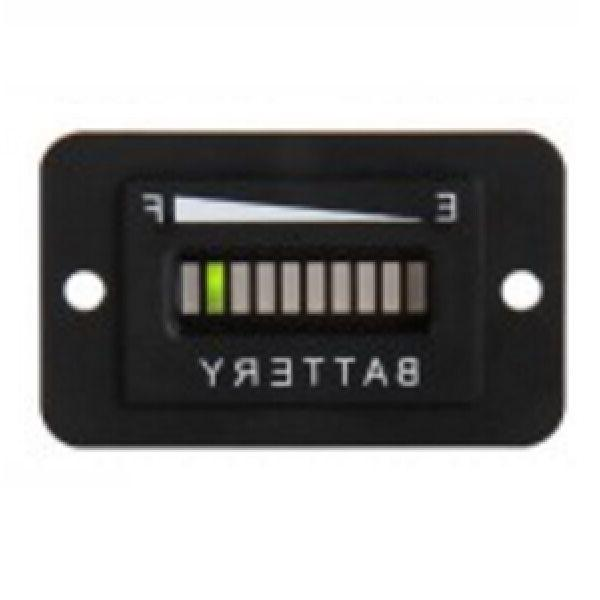 Golf Cart Accessories 48 Volt LED Battery Indicator Meter Ga