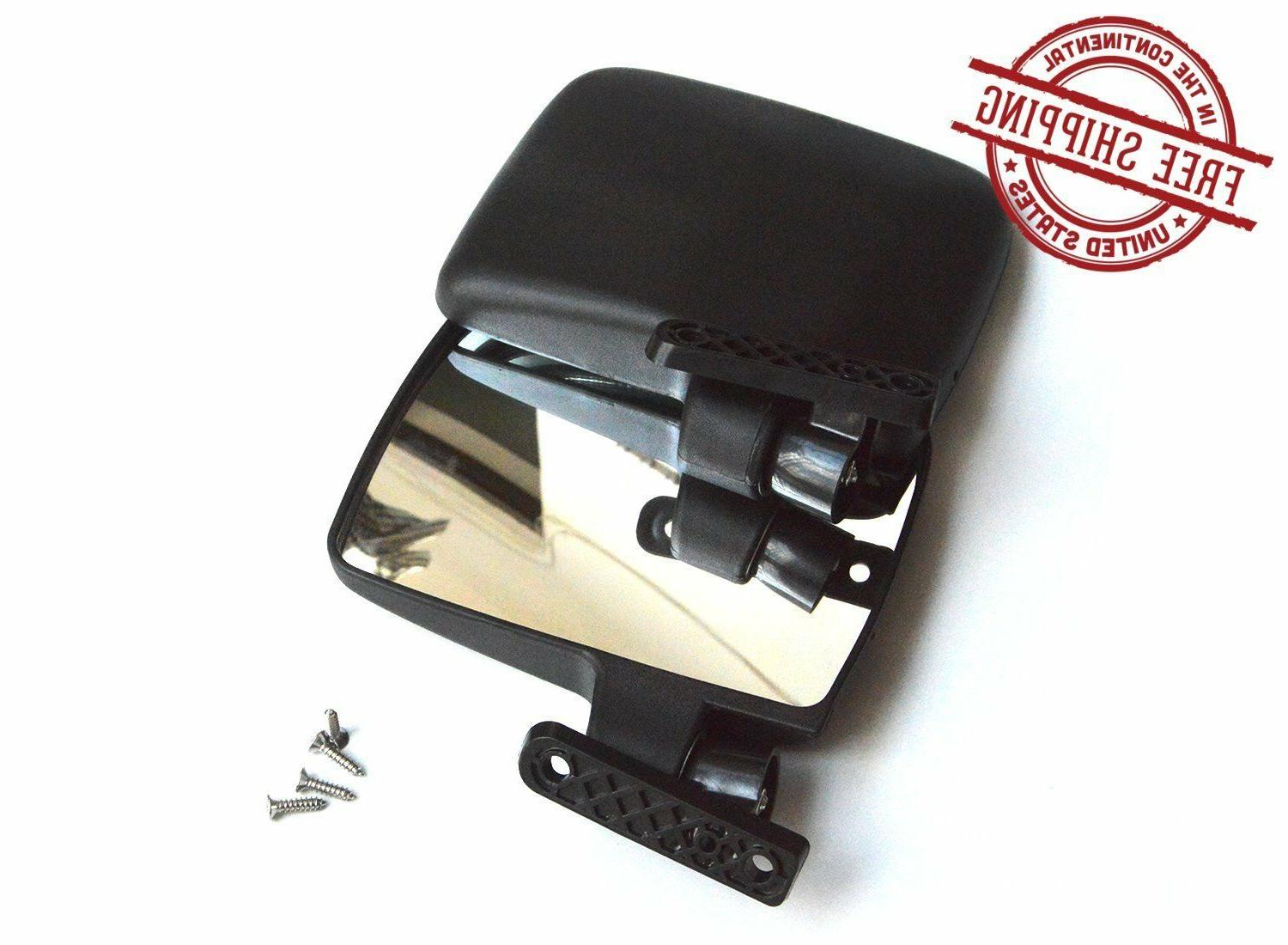 Golf Cart Mirrors Side Rear View Fits Club Electric Car Ezgo