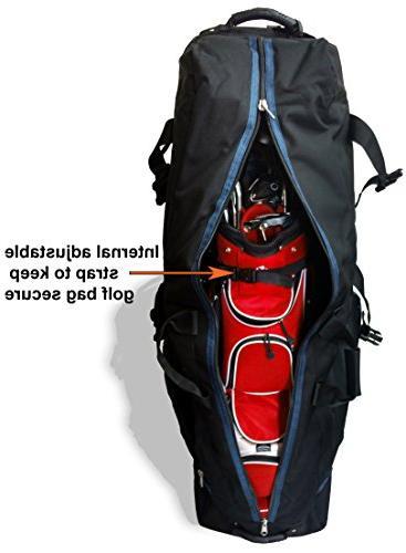 CaddyDaddy Golf Constrictor with Pole Protector Golf Bag