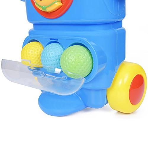 ToyVelt Kids Set – Wheels, 4 Sticks, 4 Balls 2 Practice Fun Young Toy Boys &Girls &