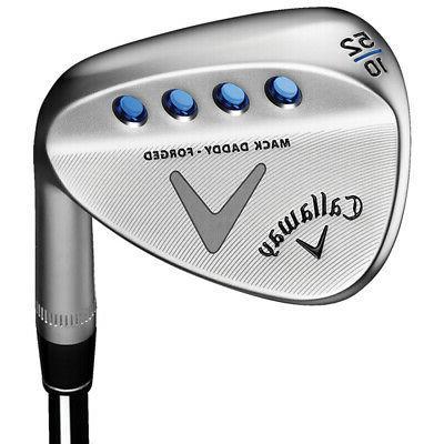 golf clubs mack daddy forged chrome wedge