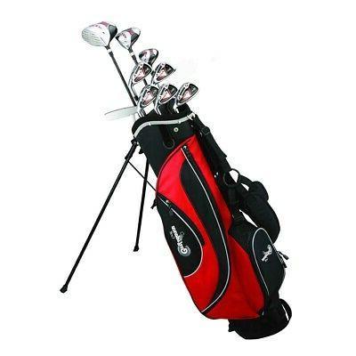Confidence Golf ESP MENS ALL GRAPHITE Hybrid Club Set + Stan