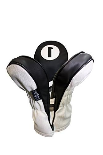 Majek Golf Black and Leather and Fits 460cc