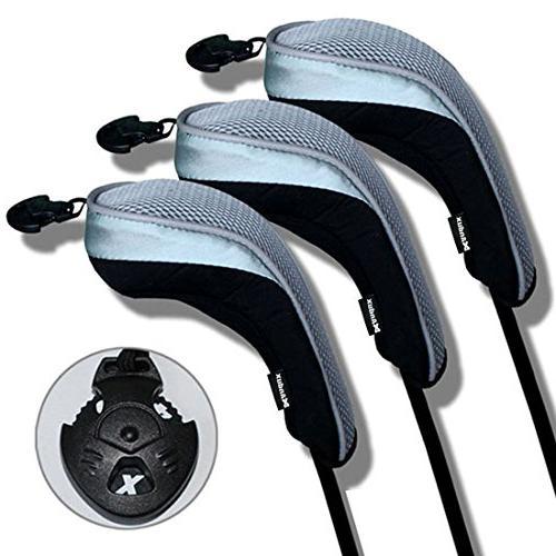 golf hybrid club head covers