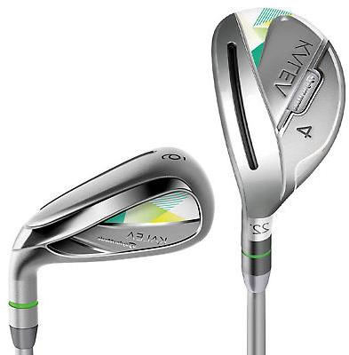 TaylorMade Womens Combo Iron Set 4H 5H Ladies Flex Right Hand