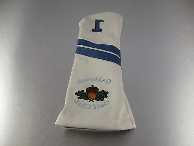 golf leather driver headcover oakbrook golf club