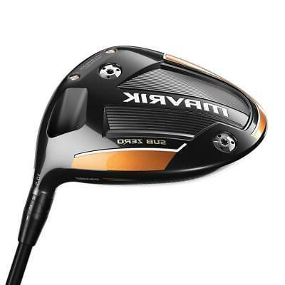 golf mavrik sub zero drivers graphite shaft