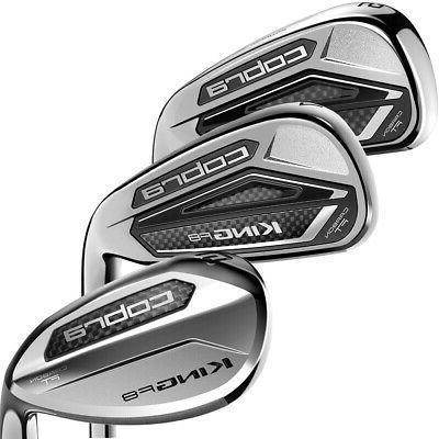 golf men s king f8 iron set