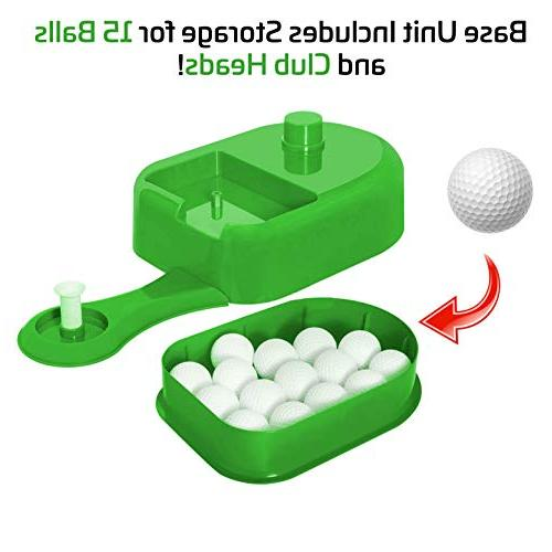 Sport Golf Toy Set, Golf Kids Set, Golf Set, Toys, Toys, Outdoor for Kids, Includes Toy