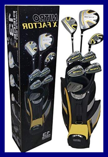golf xfactor club set