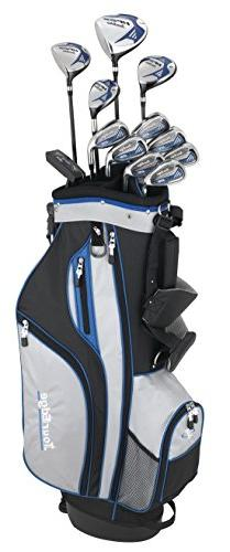 Tour Edge HP25 Men's Senior Complete Golf Club Set, Right Ha