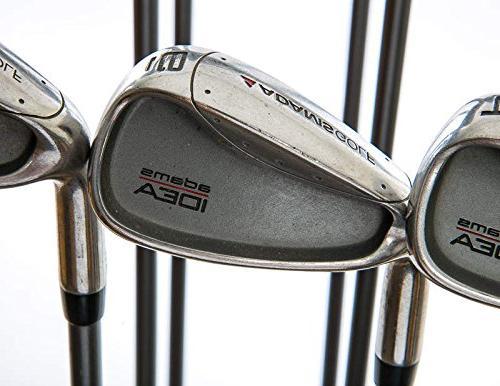 Adams Idea Iron 3H 4H 5-PW Stock Graphite Shaft Graphite Senior Left 38.5