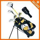 Kids Golf Club Set/ Junior Golf Set/Ages 5-8 Yellow Golf Set