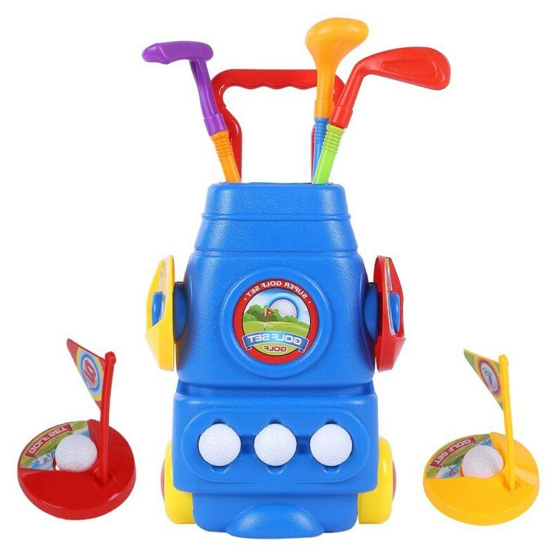 Kids Golf Clubs Todder Golf Set Sports Toys Toddlers for Chi