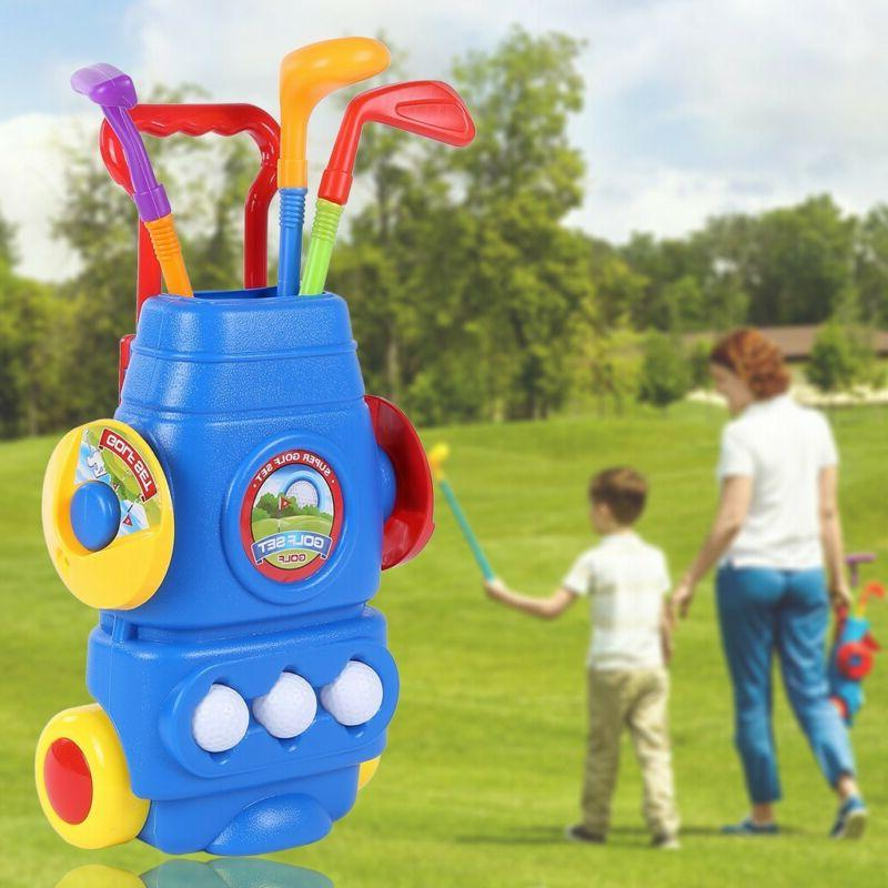 Kids Golf Set Sports Toddlers for