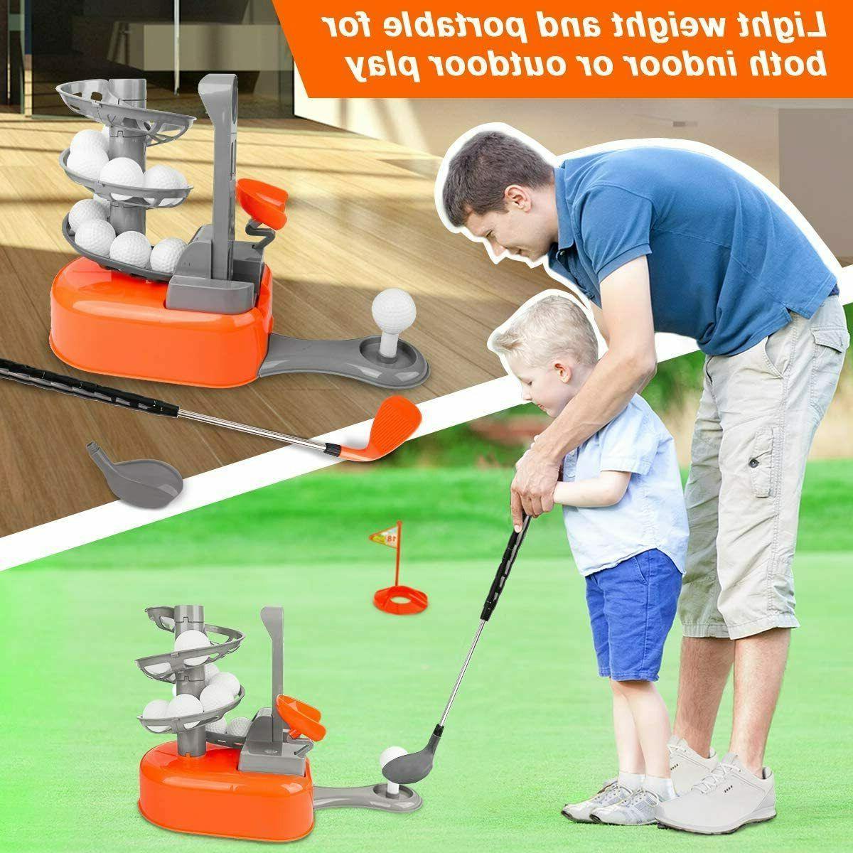 Kids Golf Set, Toddler-Golf-Clubs Toys