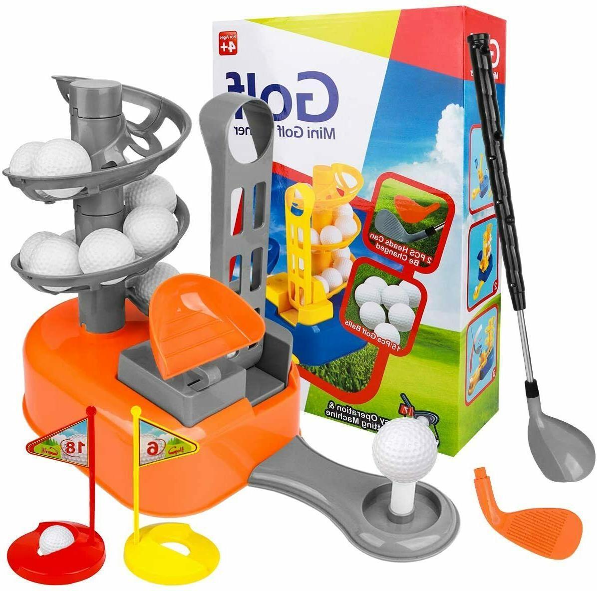 Kids Golf Toy Set, Toddler-Golf-Clubs Sport Toys