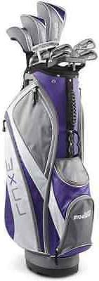 NEW Lady Wilson Luxe Package Complete Set w Driver, Bag, Woo