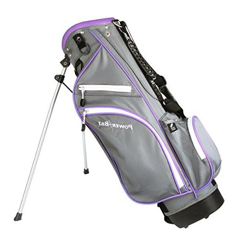 NEW PowerBilt Lavender Series Junior Hybrid Iron
