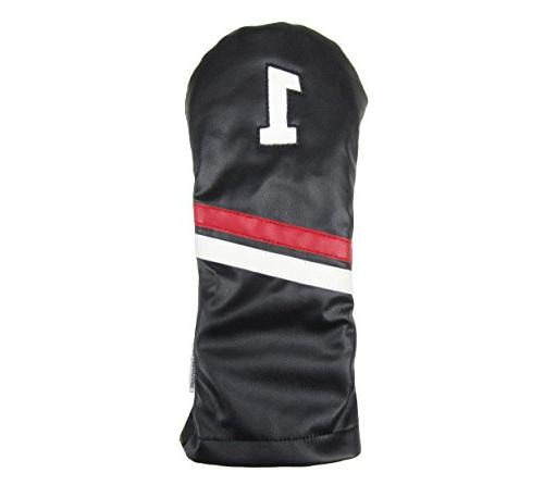 leather driver golf headcover