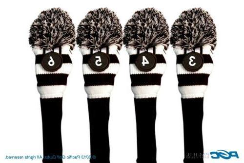 limited edition senior black knit pom pom