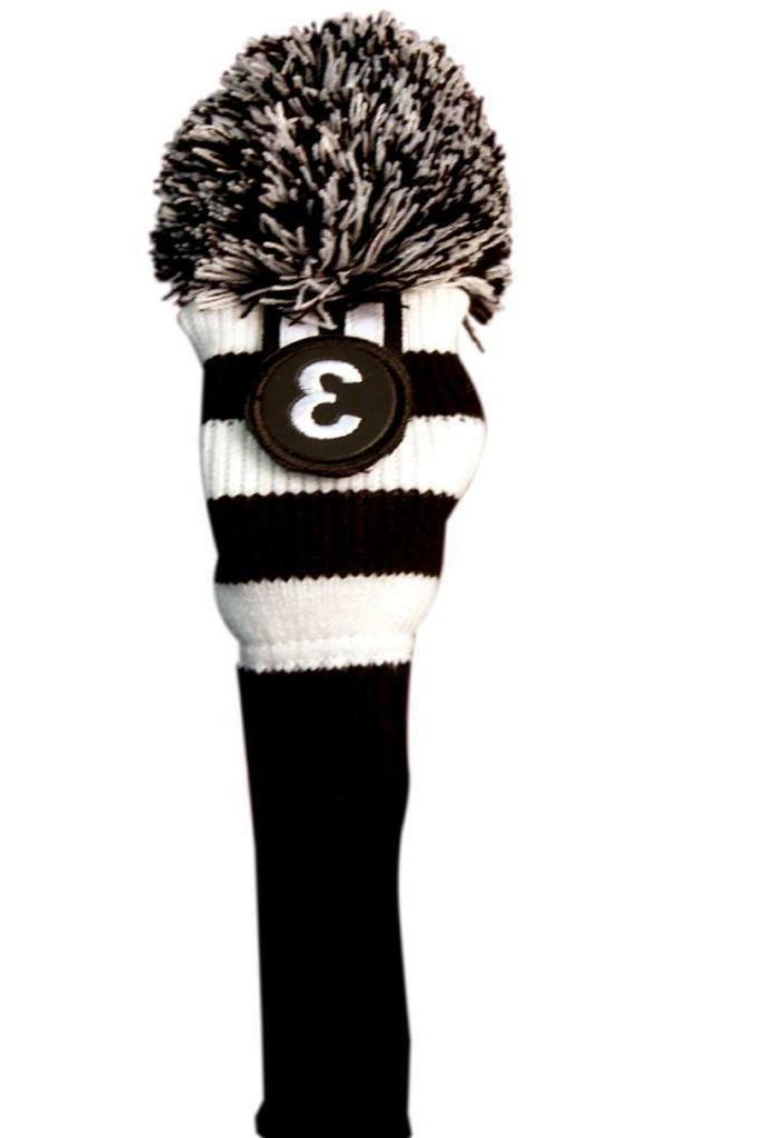 LIMITED Majek Black Pom Knit Club 4 HYBRID