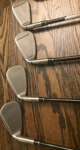 TaylorMade 5-PW Stiff Flex Graphite Left Hand New