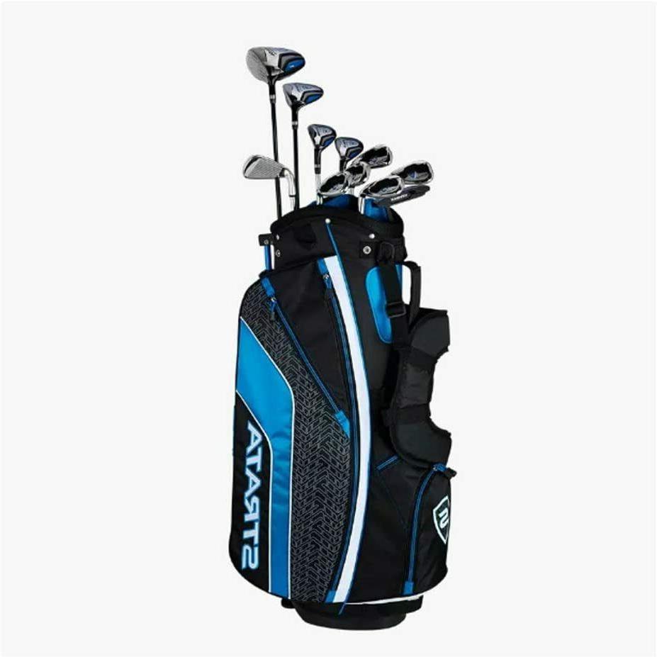 Callaway Set Golf Club New Men's Strata Plus Complete 16-Pie