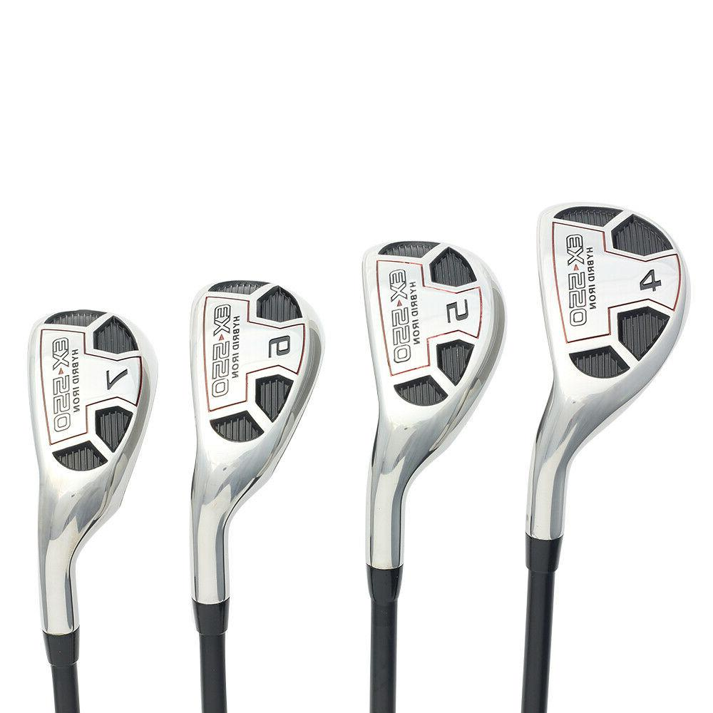 mens golf ex 550 hybrid iron set
