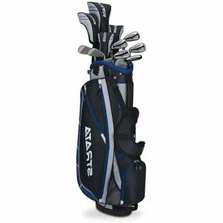 Callaway Mens Strata Plus Complete 16-Piece Golf Club Set Wi