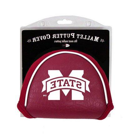 mississippi bulldogs mallet putter cover