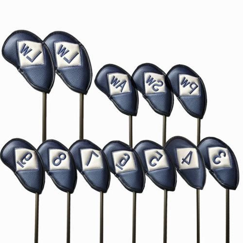 Club Glove Golf Iron Headcover Premium Fits Left/Right Hande