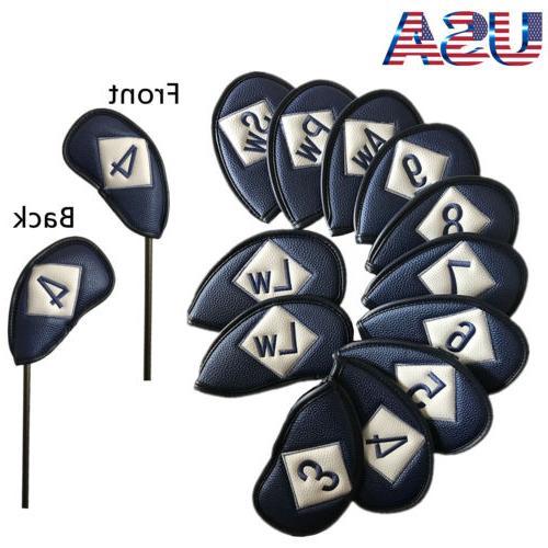 golf iron head cover set 12 pcs