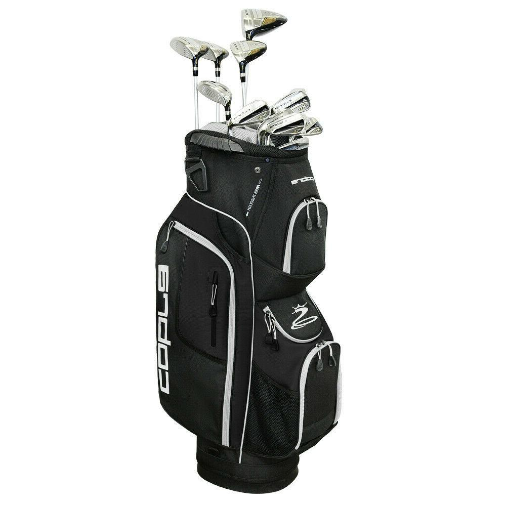 Cobra XL Speed Mens Complete Golf Package Set - Pick Your Fl