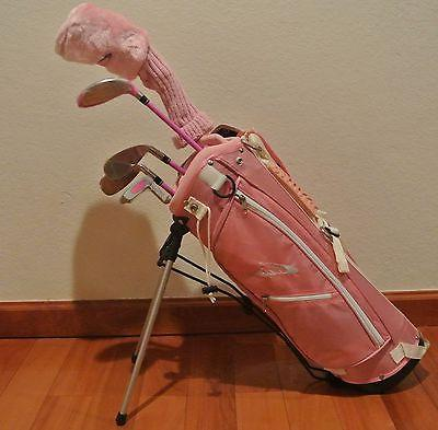 New Ciscobay  Kids Golf Clubs Junior Golf Club Pink Color Se