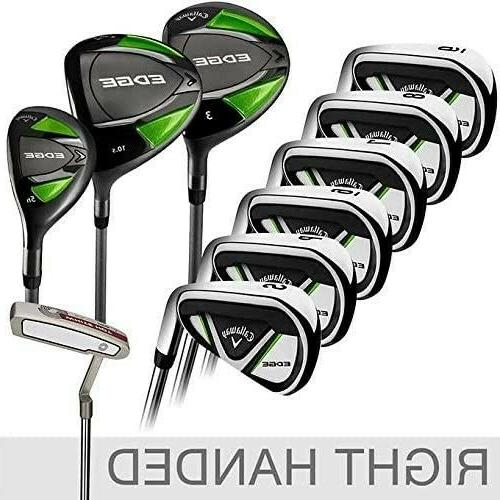 NEW EDGE Men's Golf Set 10.5 Regular Right Handed
