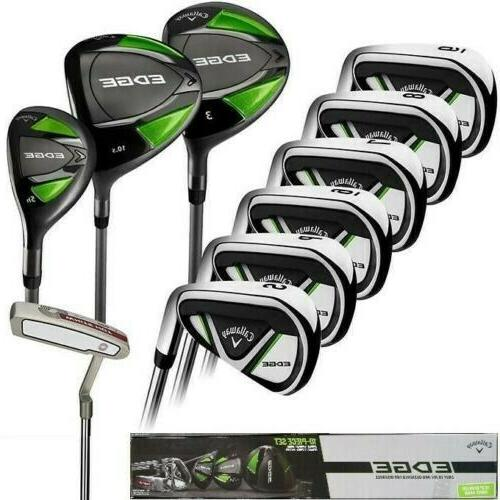 new edge 10 piece men s golf