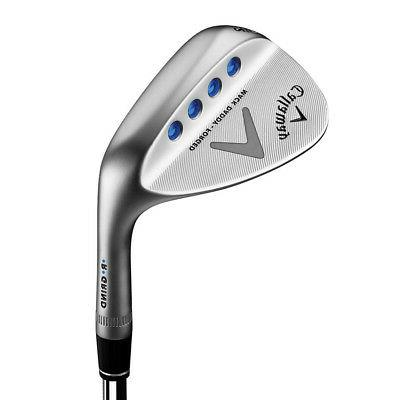 new golf mack daddy forged chrome wedge